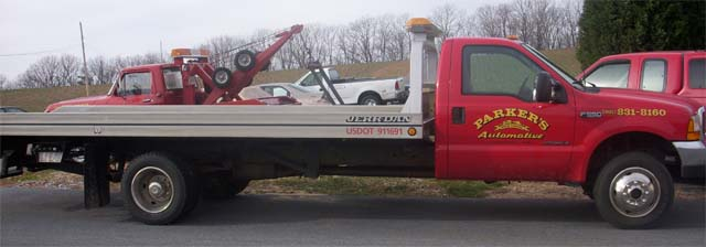 UD 1800 Tow truck flatbed